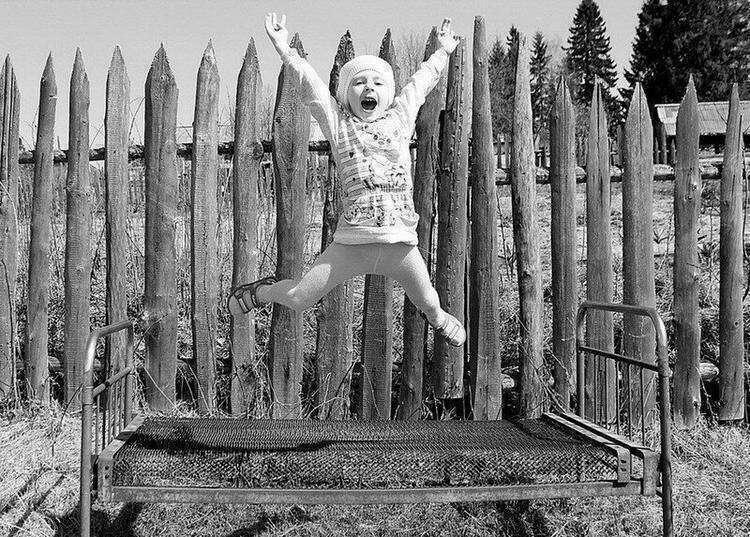 Деревенское детство и несколько фото из него