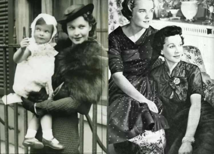 Как Вивьен Ли бросила свою «некрасивую» дочь и как сложилась жизнь девочки